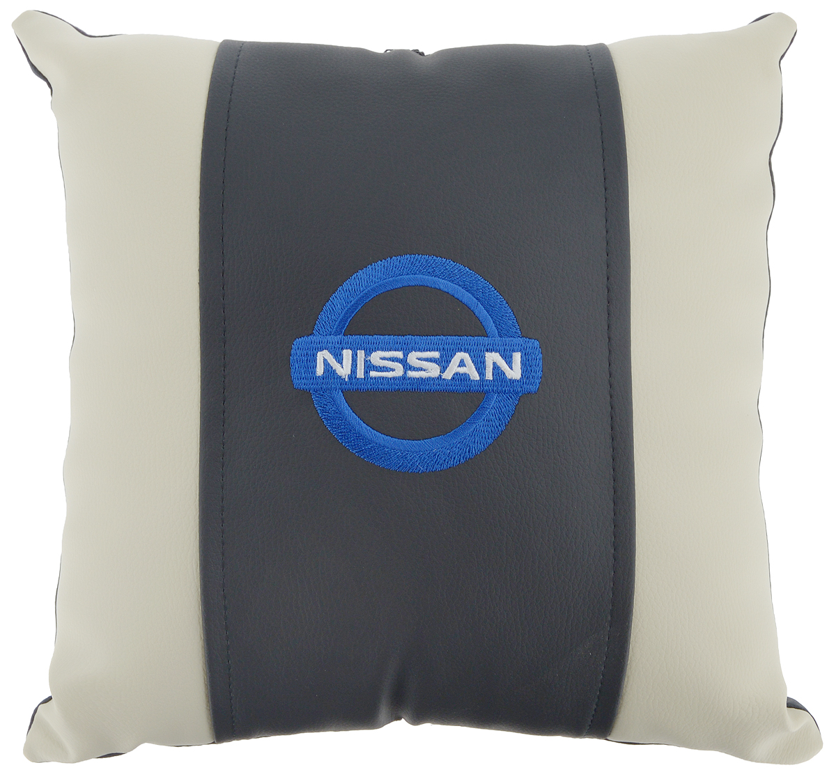 Подушка на сиденье Autoparts Nissan, 30 х 30 см21395599Подушка на сиденье Autoparts Nissan создана для тех, кто весь свой день вынужден проводить за рулем. Чехол выполнен из высококачественной дышащей экокожи. Наполнителем служит холлофайбер. На задней части подушки имеется змейка.Особенности подушки:- Хорошо проветривается.- Предупреждает потение.- Поддерживает комфортную температуру.- Обминается по форме тела.- Улучшает кровообращение.- Исключает затечные явления.- Предупреждает развитие заболеваний, связанных с сидячим образом жизни. Подушка также будет полезна и дома - при работе за компьютером, школьникам - при выполнении домашних работ, да и в любимом кресле перед телевизором.