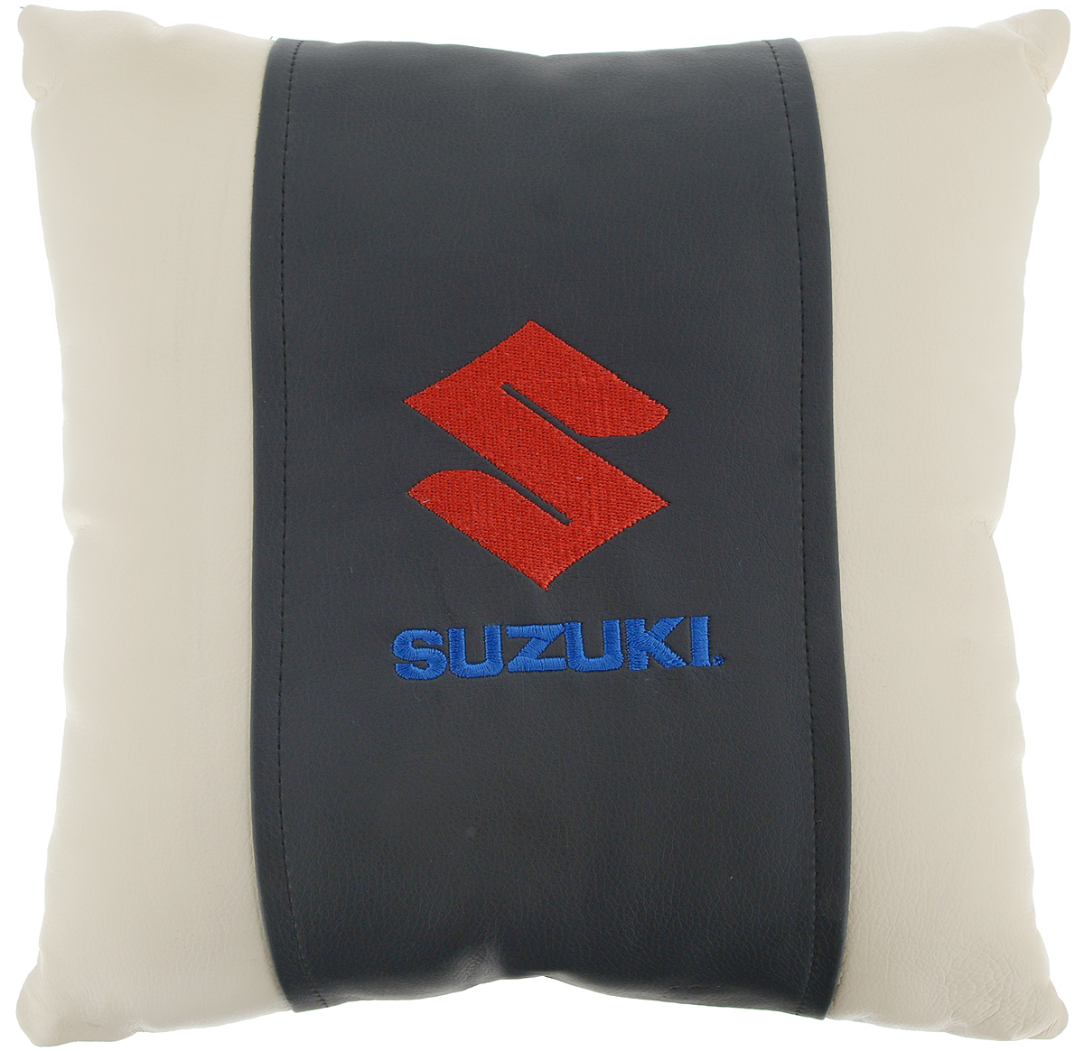 Подушка на сиденье Autoparts Suzuki, 30 х 30 смCA-3505Подушка на сиденье Autoparts Suzuki создана для тех, кто весь свой день вынужден проводить за рулем. Чехол выполнен из высококачественной дышащей экокожи. Наполнителем служит холлофайбер. На задней части подушки имеется змейка.Особенности подушки:- Хорошо проветривается.- Предупреждает потение.- Поддерживает комфортную температуру.- Обминается по форме тела.- Улучшает кровообращение.- Исключает затечные явления.- Предупреждает развитие заболеваний, связанных с сидячим образом жизни. Подушка также будет полезна и дома - при работе за компьютером, школьникам - при выполнении домашних работ, да и в любимом кресле перед телевизором.