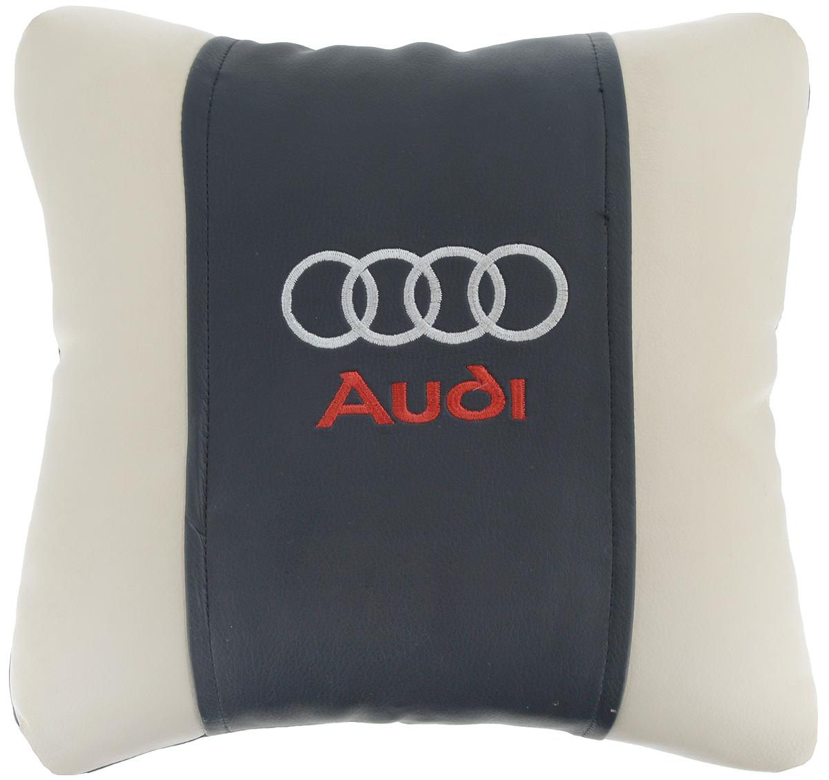 Подушка на сиденье Autoparts Audi, 30 х 30 см54 009312Подушка на сиденье Autoparts Audi создана для тех, кто весь свой день вынужден проводить за рулем. Чехол выполнен из высококачественной дышащей экокожи. Наполнителем служит холлофайбер. На задней части подушки имеется змейка.Особенности подушки:- Хорошо проветривается.- Предупреждает потение.- Поддерживает комфортную температуру.- Обминается по форме тела.- Улучшает кровообращение.- Исключает затечные явления.- Предупреждает развитие заболеваний, связанных с сидячим образом жизни. Подушка также будет полезна и дома - при работе за компьютером, школьникам - при выполнении домашних работ, да и в любимом кресле перед телевизором.