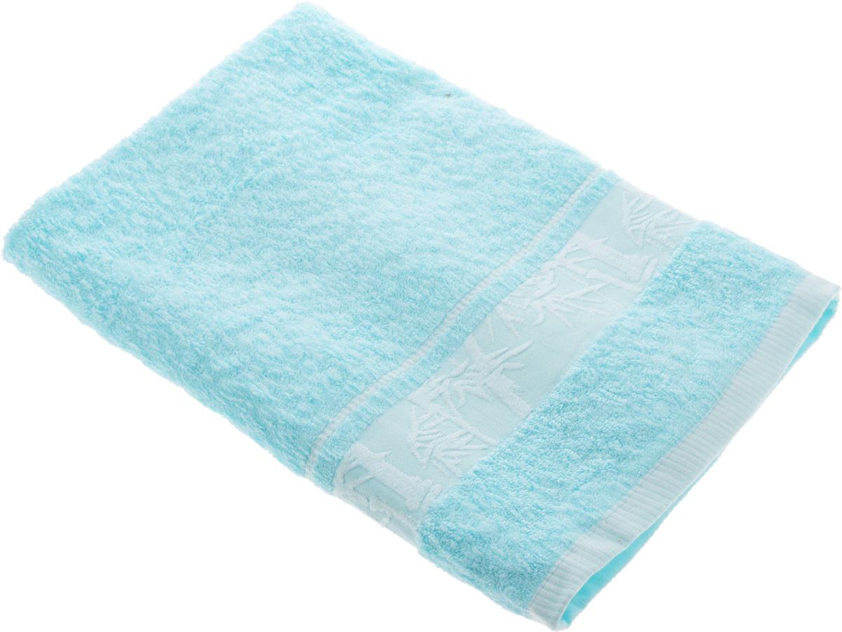 Полотенце Soavita Chloe, цвет: светло-голубой, 70 х 130 см68/5/1Полотенце Soavita Chloe выполнено из 100% бамбукового волокна. Изделие отлично впитывает влагу, быстро сохнет, сохраняет яркость цвета и не теряет форму даже после многократных стирок. Полотенце очень практично и неприхотливо в уходе. Оно создаст прекрасное настроение и украсит интерьер в ванной комнате.