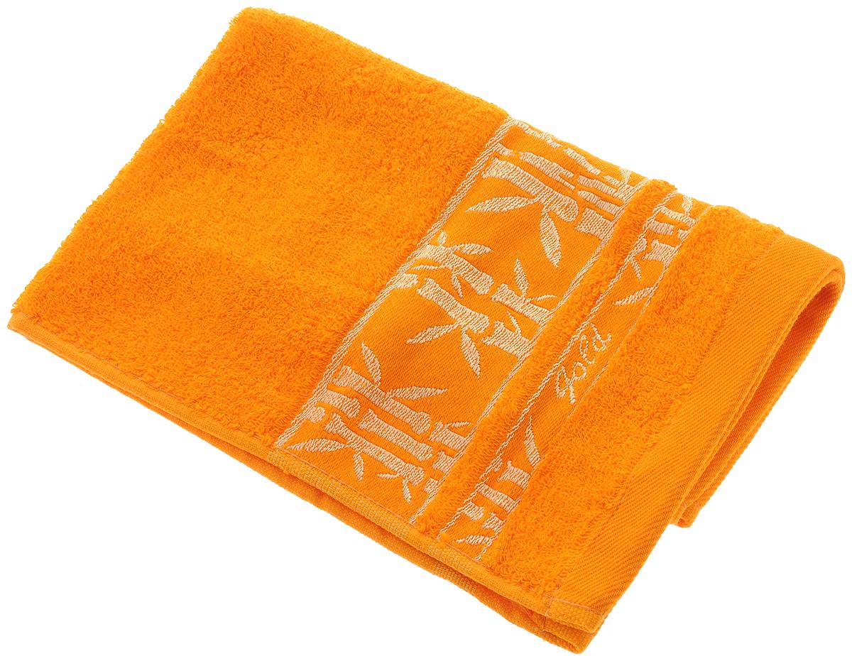 Полотенце Soavita Andrea, цвет: оранжевый, 30 х 50 см74-0120Полотенце Soavita Andrea выполнено из 100% бамбукового волокна. Изделие отлично впитывает влагу, быстро сохнет, сохраняет яркость цвета и не теряет форму даже после многократных стирок. Полотенце очень практично и неприхотливо в уходе. Оно создаст прекрасное настроение и украсит интерьер в ванной комнате.