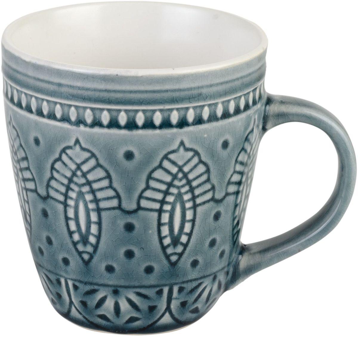 Набор кружек Tongo, цвет: серый винтаж, 350 мл, 6 штM-350g Tongo Набор кружекНабор Tongo состоит из 6 кружек, выполненных из керамики с глазурованным покрытием. Такой набор станет изысканным украшением стола к чаепитию и порадует вас и ваших гостей оригинальным дизайном и качеством исполнения. Он прекрасно подойдет в качестве подарка к любому случаю. Диаметр кружки (по верхнему краю): 9 см. Высота кружки: 10 см.