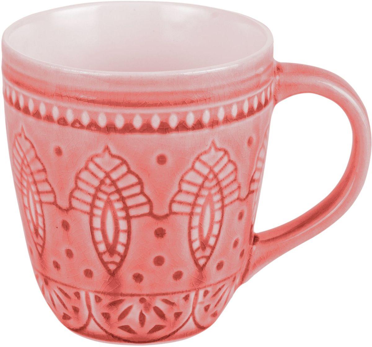 Набор кружек Tongo, цвет: розовый само, 350 мл, 6 штFS-91909Традиционная этническая посуда Индонезии. Декоративная техника придает посуде этнический шарм, с элементами старения, в виде паутинки мелких трещинок на поверхности эмали, что повышает ее привлекательность и ценность среди посудных аналогов.В процессе эксплуатации мелкие трещины так же могут проявляться на внутренних поверхностях кружек и салатников, - что так же является задумкой дизайнеров, заложенной в производственной технологии.