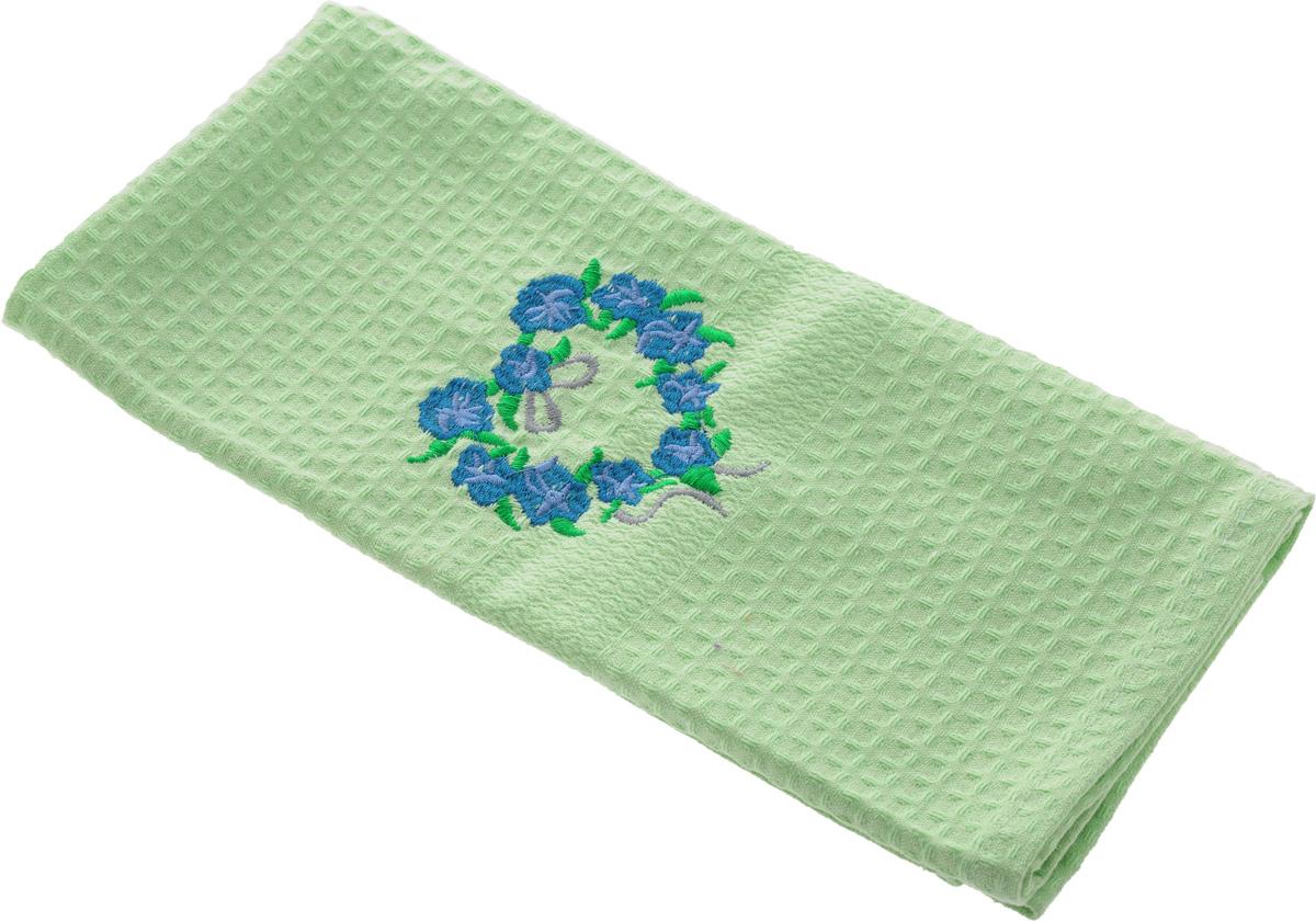 Полотенце кухонное Soavita, цвет: светло-зеленый, 40 х 60 см. 48803VT-1520(SR)Кухонное полотенце Soavita выполнено из 100% хлопка. Оно отлично впитывает влагу, быстро сохнет, сохраняет яркость цвета и не теряет форму даже после многократных стирок. Изделие предназначено для использования на кухне и в столовой.Такое полотенце станет отличным вариантом для практичной и современной хозяйки.