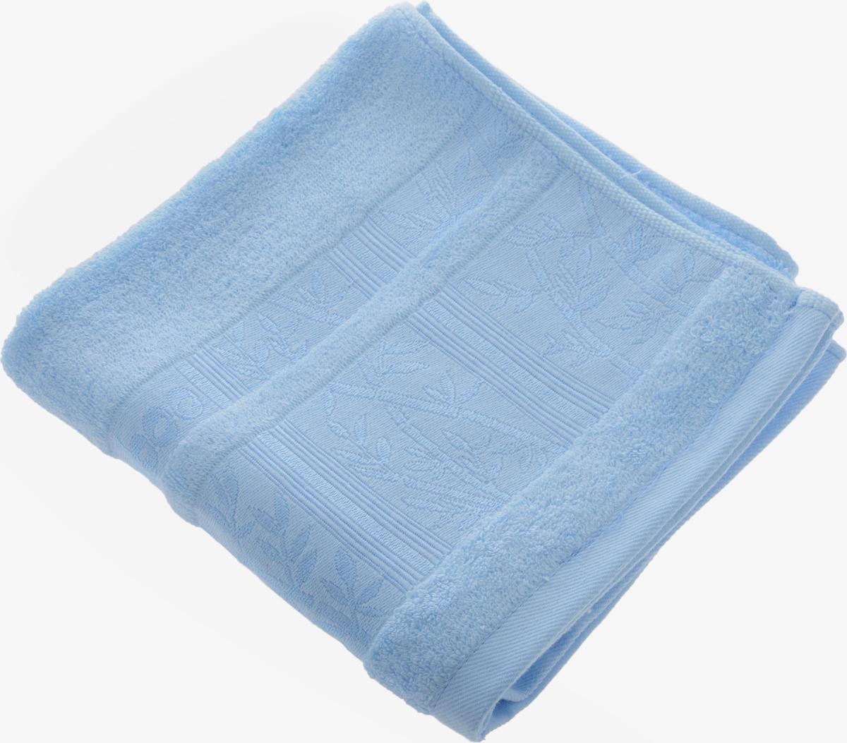 Полотенце Soavita Carol, цвет: голубой, 45 х 90 см80663Полотенце Soavita Carol выполнено из 100% бамбукового волокна. Изделие отлично впитывает влагу, быстро сохнет, сохраняет яркость цвета и не теряет форму даже после многократных стирок. Полотенце очень практично и неприхотливо в уходе. Оно создаст прекрасное настроение и украсит интерьер в ванной комнате.Рекомендуется стирка при температуре 40°C.