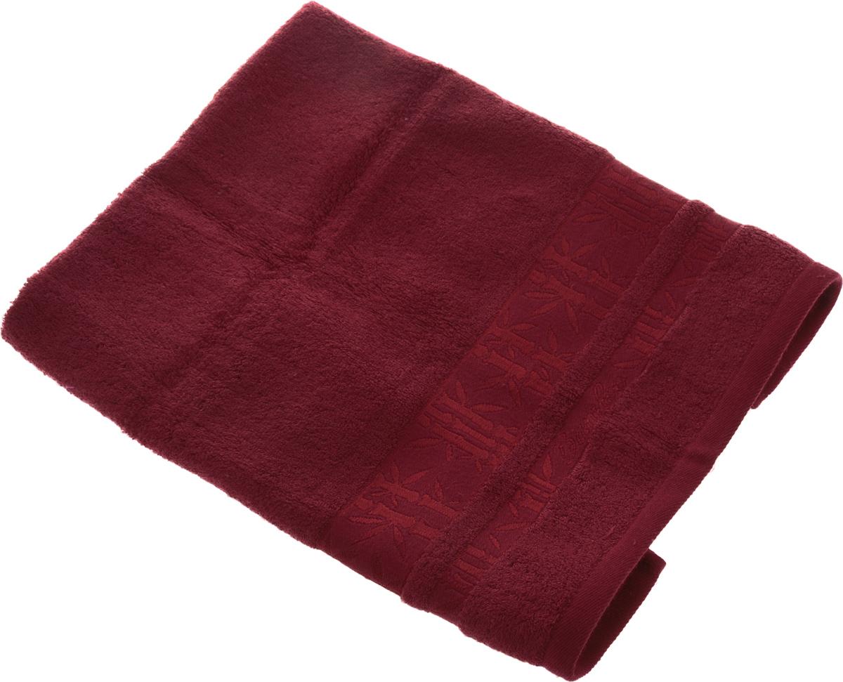 Полотенце Soavita Daniel, цвет: бордовый, 50 х 70 см74-0060Полотенце Soavita Daniel выполнено из 100% бамбукового волокна. Изделие отлично впитывает влагу, быстро сохнет, сохраняет яркость цвета и не теряет форму даже после многократных стирок. Полотенце очень практично и неприхотливо в уходе. Оно создаст прекрасное настроение и украсит интерьер в ванной комнате.