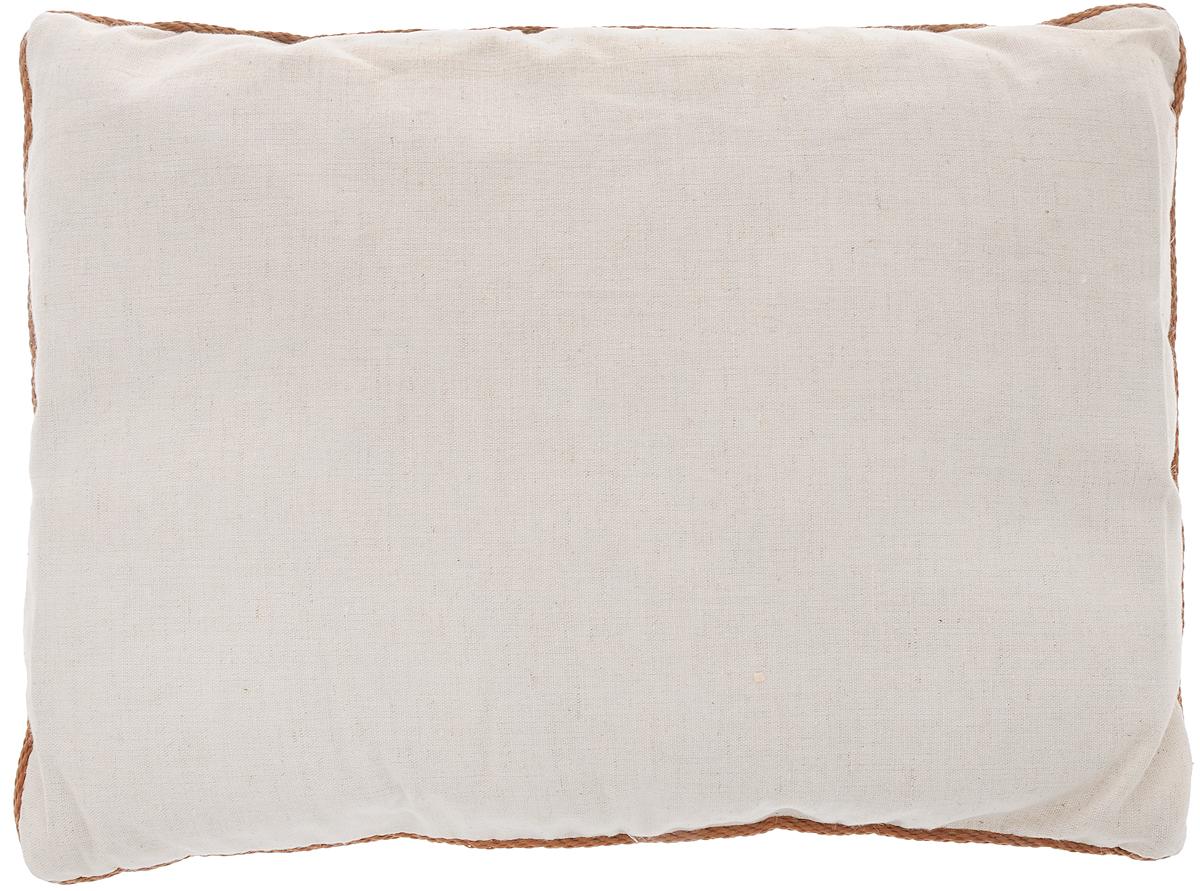 Подушка Smart Textile Кедровая, наполнитель: пленка ядра кедрового ореха, 30 х 40 смCLP446Подушка Smart Textile Кедровая подарит вам незабываемое чувство комфорта и умиротворения. Чехол выполнен из 100% хлопка, имеет окантовку и застежку-молнию, через которую удобно отсыпать наполнитель, если подушка вам покажется высокой или плотной.Пленка ядра кедрового ореха - поистине уникальна. Ее традиционно используют в профилактических и лечебных целях. Такие подушки обладают ортопедическим эффектом и нормализует сон, служат профилактикой многих заболеваний (бронхит, астма, туберкулез), благодаря содержащимся фитонцидам сибирского кедра, которые сдерживают рост болезнетворных бактерий и уничтожают их, улучшают общее самочувствие и укрепляют иммунитет, помогая вашему организму более эффективно бороться с простудными заболеваниями. Кедровые подушки хороши абсолютно для всех, даже для детей, так как наполнитель абсолютно гипоаллергенный, особенно полезно использовать такие подушки для детских учреждений - садиков, лагерей, интернатов. Сама подушка приятна на ощупь, что сделает ваш отдых более комфортным. Сон на такой подушке восстановит ваш энергетический баланс после тяжелого дня и сделает ваш день более продуктивным. Материал чехла: 100% хлопок.Наполнитель: пленка ядра кедрового ореха.