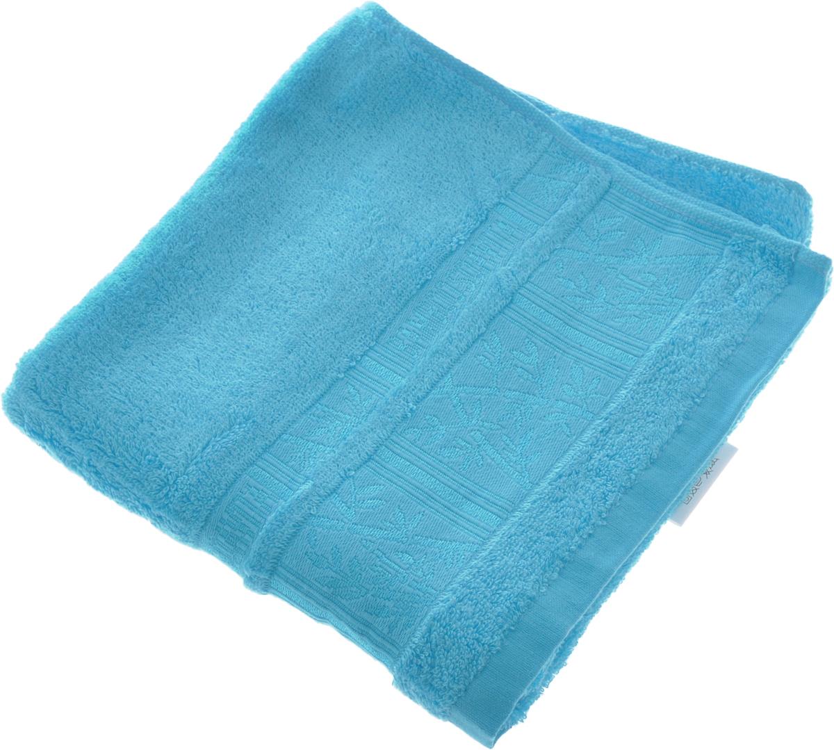 Полотенце Soavita Sofia, цвет: голубой, 50 х 90 см12723Полотенце Soavita Sofia выполнено из 100% бамбукового волокна. Изделие отлично впитывает влагу, быстро сохнет, сохраняет яркость цвета и не теряет форму даже после многократных стирок. Полотенце очень практично и неприхотливо в уходе. Оно создаст прекрасное настроение и украсит интерьер в ванной комнате.