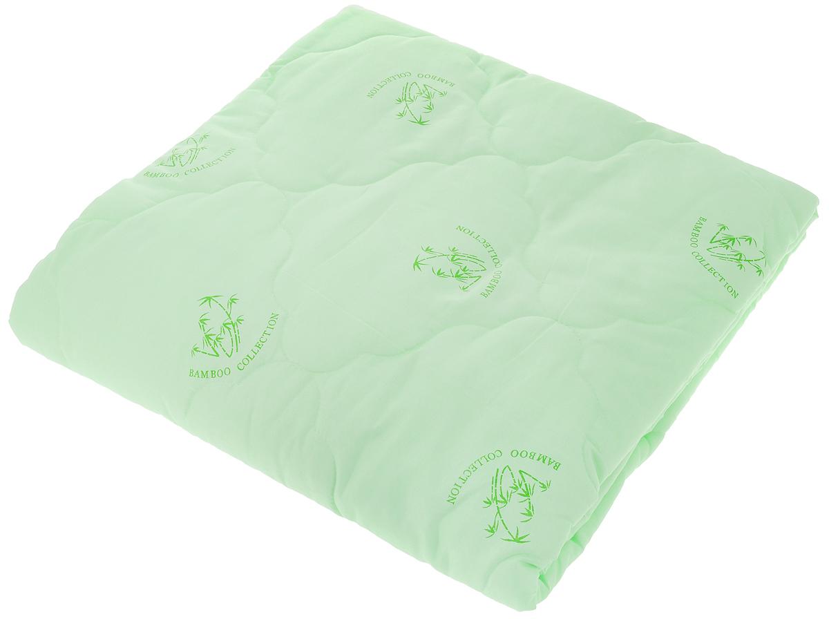 Одеяло ЭГО, наполнитель: бамбуковое волокно, 142 x 205 см. ЭО-2001-0185254Одеяло ЭГО подарит уютный и комфортный сон. Чехол одеяла выполнен из полиэстера и оформлен рисунком в виде бамбуковых стеблей. Внутри - наполнитель из бамбукового волокна. Такой наполнитель имеет массу достоинств: антибактериальные свойства, хорошую воздухонепроницаемость, прочность, гигроскопичность, экологичность. Кроме того, изделия с таким наполнителем очень просты в уходе - наполнитель не садится и не сбивается при стирке, обладает высокой прочностью и не впитывает запахи.Одеяло с бамбуковым наполнителем придется по душе людям, ценящим красоту и комфорт. Оригинальная стежка равномерно распределяет наполнитель в чехле. Такое одеяло дарит комфортный сон в любое время года. Одеяло легко стирается в стиральной машине и быстро высыхает. Ваше одеяло прослужит долго, а его изысканный внешний вид будет годами дарить вам уют.