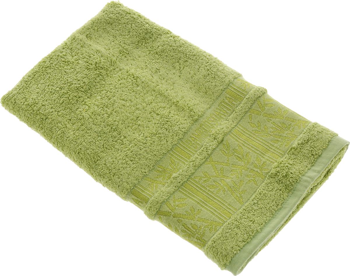 Полотенце Soavita Sofia, цвет: светло-зеленый, 50 х 90 см12723Полотенце Soavita Sofia выполнено из 100% бамбукового волокна. Изделие отлично впитывает влагу, быстро сохнет, сохраняет яркость цвета и не теряет форму даже после многократных стирок. Полотенце очень практично и неприхотливо в уходе. Оно создаст прекрасное настроение и украсит интерьер в ванной комнате.