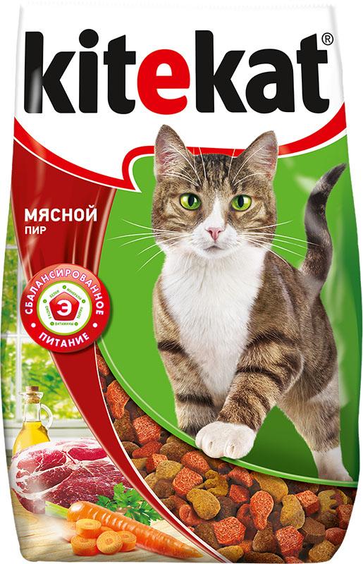 Корм сухой для кошек Kitekat, мясной пир, 800 г40428Сухой корм для взрослых кошек Kitekat - это специально разработанный рацион с оптимально сбалансированным содержанием белков, витаминов и микроэлементов. Уникальная формула Kitekat включает в себя все необходимые для здоровья компоненты: - белки - для поддержания мышечного тонуса, силы и энергии; - жирные кислоты - для здоровой кожи и блестящей шерсти; - кальций, фосфор, витамин D - для крепости костей и зубов; - таурин - для остроты зрения и стабильной работы сердца; - витамины и минералы, натуральные волокна - для хорошего пищеварения, правильного обмена веществ, укрепления здоровья.Состав: злаки, мясо и субпродукты, белковые растительные экстракты, жиры животного происхождения, растительные масла (источник омега-6), овощи, пивные дрожжи, витамины и минеральные вещества. Анализ: белки 28 г; жиры 9 г; зола 8 г; клетчатка не более 5 г; влажность не более 10 г; кальций 1,2 г; фосфор 0,8 г; витамин А 1200 ME; витамин D 120 ME; витамин Е 6 мг; а также витамин В2, витамин В12, пантотеновая кислота, биотин, витамин В1, витамин В6, ниацин, таурин, метионин. Товар сертифицирован.
