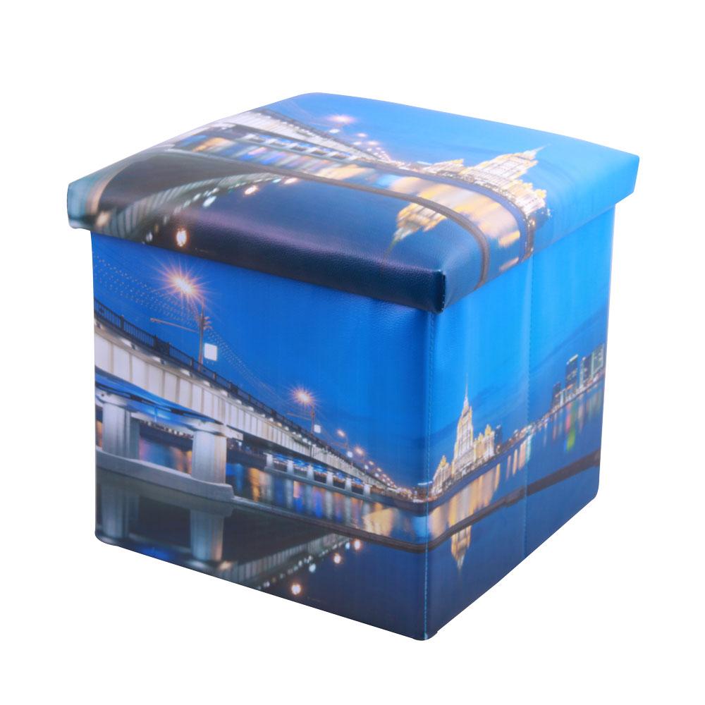 Пуф-короб для хранения Miolla, 38 х 38 х 38 см. PSS-11TD 0033Пуф-короб для хранения Miolla - удобный, компактный и стильный предмет интерьера. Изделие отличает актуальный дизайн и многофункциональность. На пуфе комфортно сидеть - он выдерживает вес до 200 кг. Верхняя часть пуфа представляет собой съемную крышку, внутри можно хранить небольшие предметы домашнего обихода. Пуф-короб складной, благодаря чему его удобно хранить и перевозить.Размер: 38 х 38 х 38 см.