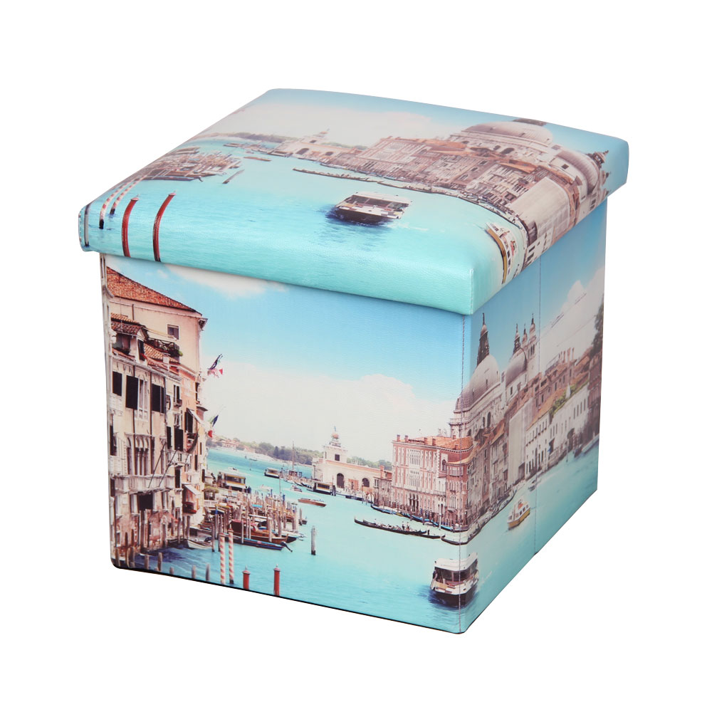 Пуф-короб для хранения Miolla, 38 х 38 х 38 см. PSS-6BQ1004СНЛЕГОПуф-короб для хранения Miolla - удобный, компактный и стильный предмет интерьера. Изделие отличает актуальный дизайн и многофункциональность. На пуфе комфортно сидеть - он выдерживает вес до 200 кг. Верхняя часть пуфа представляет собой съемную крышку, внутри можно хранить небольшие предметы домашнего обихода. Пуф-короб складной, благодаря чему его удобно хранить и перевозить.Размер: 38 х 38 х 38 см.