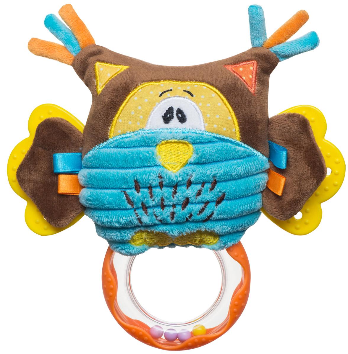 BabyOno Развивающая игрушка Совенок babyono мягкая кукла лили цвет коралловый