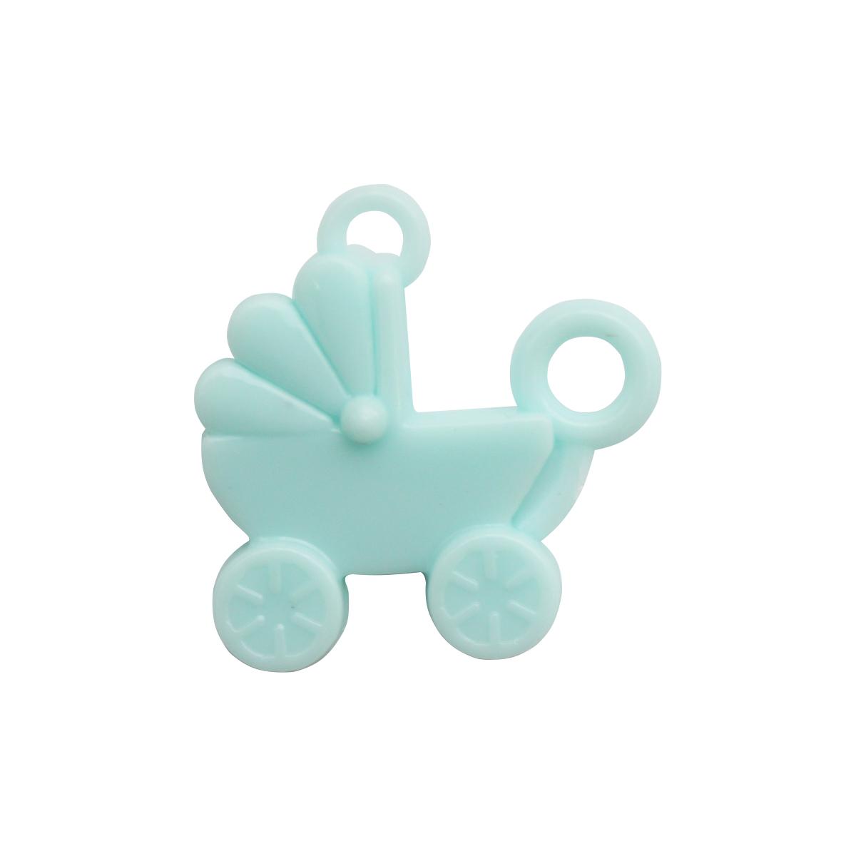 Декоративный элемент Lan Jing Ling Коляска, цвет: голубой, 6 шт. 580794_ голубой54 009312Миниатюрные декоративные элементы, выполненные из пластика. Используются при создании авторских фотоальбомов, открыток и так далее. В упаковке 6 шт.