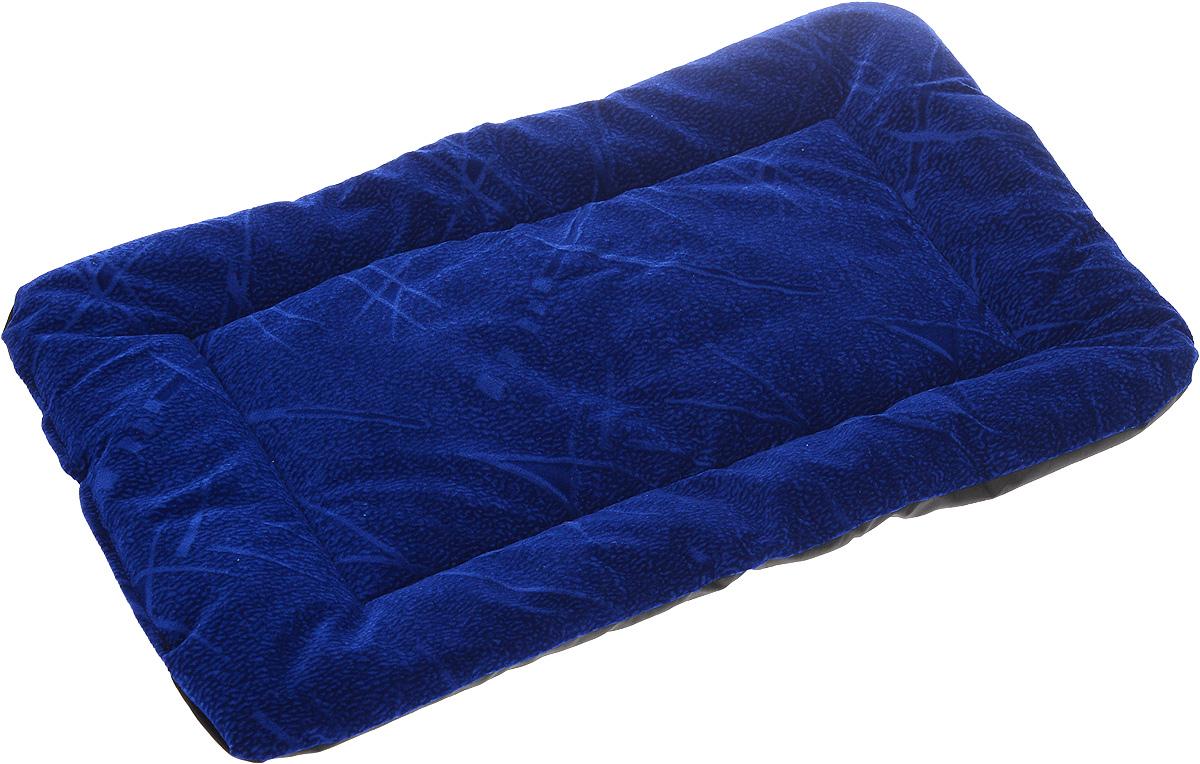 Матрас для животных Зоомарк, цвет: синий, 38 х 54 см0120710Матрас Зоомарк, выполненный из флока, обязательно понравится вашему питомцу. Он очень удобный и уютный. Ваш любимец сразу же захочет забраться на матрас, там он сможет отдохнуть и подремать в свое удовольствие. Такой матрас необходим для организации собственного уголка питомца в доме, а компактные размеры позволят поместить его где угодно.