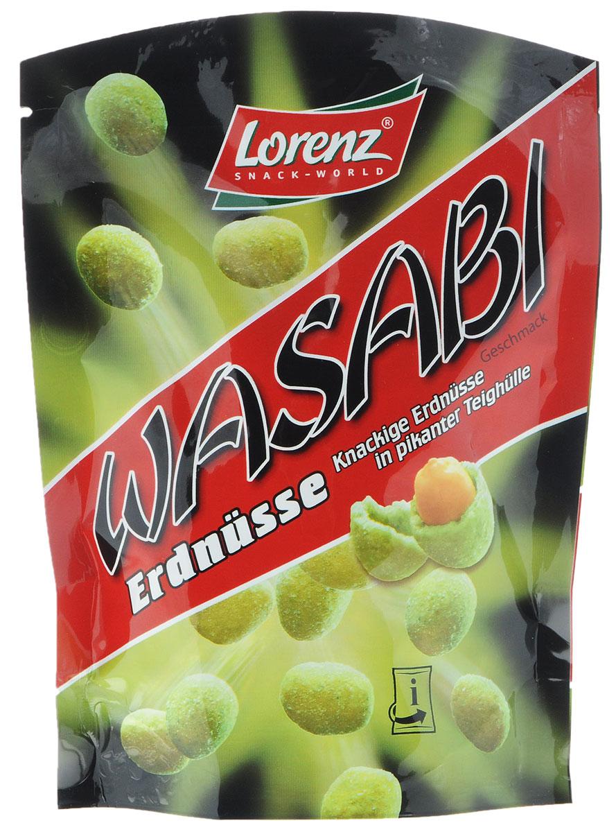 Lorenz Wasabi арахис в хрустящей оболочке из теста, 100 г0120710Хотите отправиться в экзотическое путешествие? Тогда попробуйте арахис Wasabi от Lorenz - это цельный арахис в острой хрустящей оболочке с японским хреном Васаби.