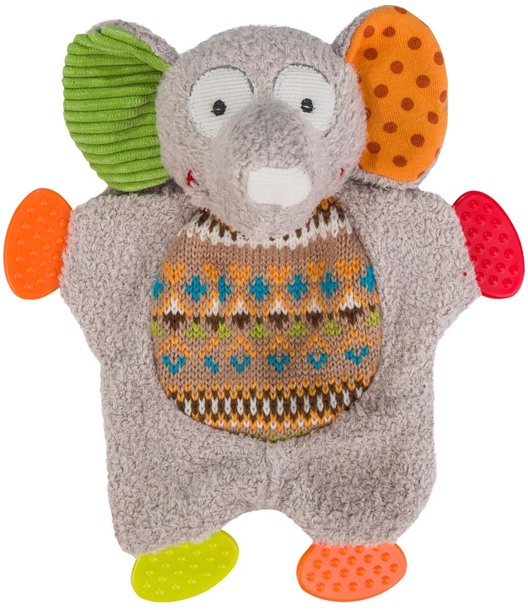 BabyOno Развивающая игрушка Забавный слоненок babyono развивающая игрушка гимнастика малыша