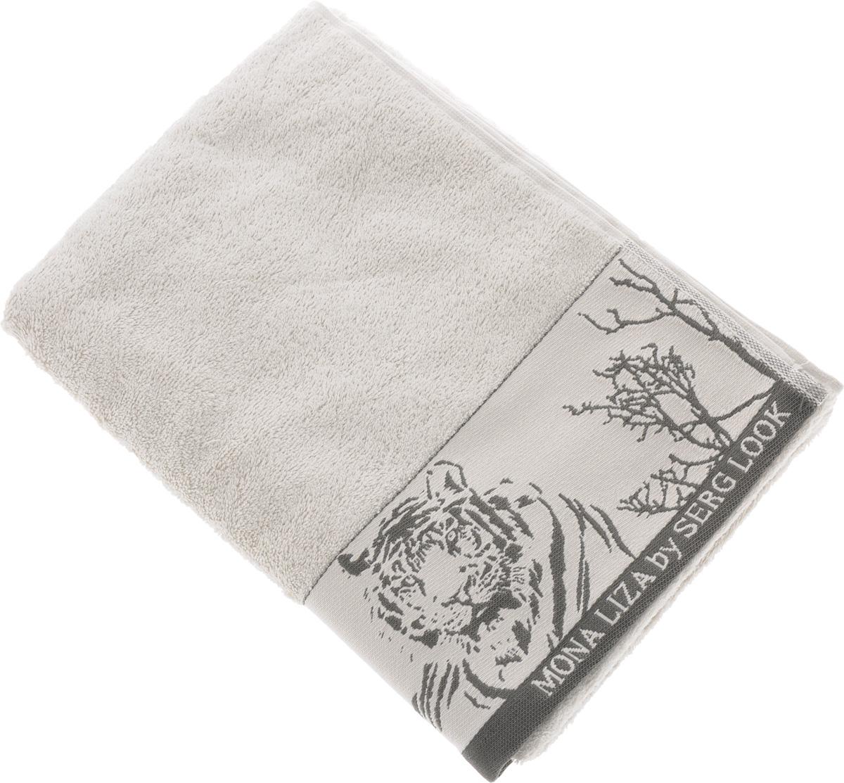 Полотенце Mona Liza Wild, цвет: светло-серый, серый, 70 х 140 смNLED-410-1W-YМягкое полотенце Wild изготовлено из 30% хлопка и 70% бамбукового волокна. Полотенце Wild с жаккардовым бордюром обладает высокой впитывающей способностью и сочетает в себе элегантную роскошь и практичность. Благодаря высокому качеству изготовления, полотенце будет радовать вас многие годы. Мотивы коллекции Mona Liza Premium bu Serg Look навеяны итальянскими фресками эпохи Ренессанса, периода удивительной гармонии в искусстве. В представленной коллекции для нанесения на ткань рисунка применяется многоцветная печать, метод реактивного крашения, который позволяет создать уникальную цветовую гамму, напоминающую старинные фрески. Этот метод также обеспечивает высокую устойчивость краски при стирке.