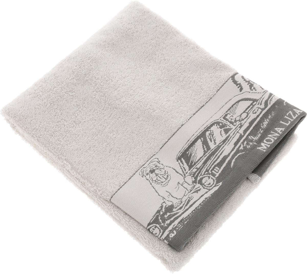 Полотенце Mona Liza Pet, цвет: светло-серый, серый, 50 х 90 смLX-OZ01Мягкое полотенце Pet изготовлено из 30% хлопка и 70% бамбукового волокна. Полотенце Pet с жаккардовым бордюром обладает высокой впитывающей способностью и сочетает в себе элегантную роскошь и практичность. Благодаря высокому качеству изготовления, полотенце будет радовать вас многие годы. Мотивы коллекции Mona Liza Premium bu Serg Look навеяны итальянскими фресками эпохи Ренессанса, периода удивительной гармонии в искусстве. В представленной коллекции для нанесения на ткань рисунка применяется многоцветная печать, метод реактивного крашения, который позволяет создать уникальную цветовую гамму, напоминающую старинные фрески. Этот метод также обеспечивает высокую устойчивость краски при стирке.