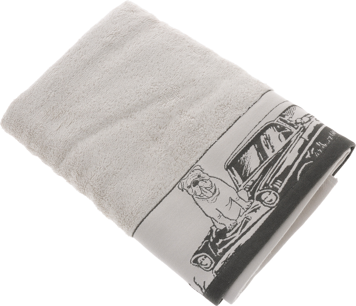 Полотенце Mona Liza Pet, цвет: светло-серый, серый, 70 х 140 см68/5/3Мягкое полотенце Pet изготовлено из 30% хлопка и 70% бамбукового волокна. Полотенце Pet с жаккардовым бордюром обладает высокой впитывающей способностью и сочетает в себе элегантную роскошь и практичность. Благодаря высокому качеству изготовления, полотенце будет радовать вас многие годы. Мотивы коллекции Mona Liza Premium bu Serg Look навеяны итальянскими фресками эпохи Ренессанса, периода удивительной гармонии в искусстве. В представленной коллекции для нанесения на ткань рисунка применяется многоцветная печать, метод реактивного крашения, который позволяет создать уникальную цветовую гамму, напоминающую старинные фрески. Этот метод также обеспечивает высокую устойчивость краски при стирке.