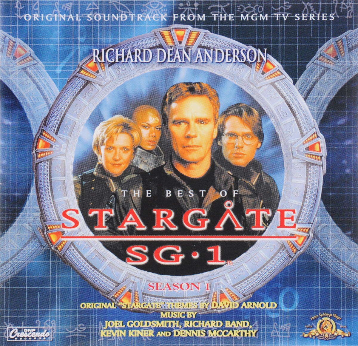 The Best Of Stargate SG-1. Season 1. Original Soundtrack From The MGM TV Series