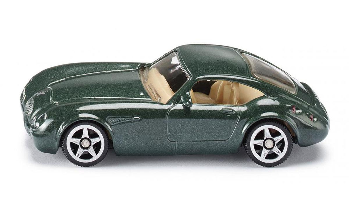 """Модель автомобиля Siku """"Wiesmann GT MF4"""" выполнена в виде уменьшенной копии реального авто. Такая модель понравится не только ребенку, но и взрослому коллекционеру, и приятно удивит вас высочайшим качеством исполнения. Модель выполнена из металла с элементами из пластика; прорезиненные колеса имеют свободный ход. Отличный подарок для любителей автомобилей!"""