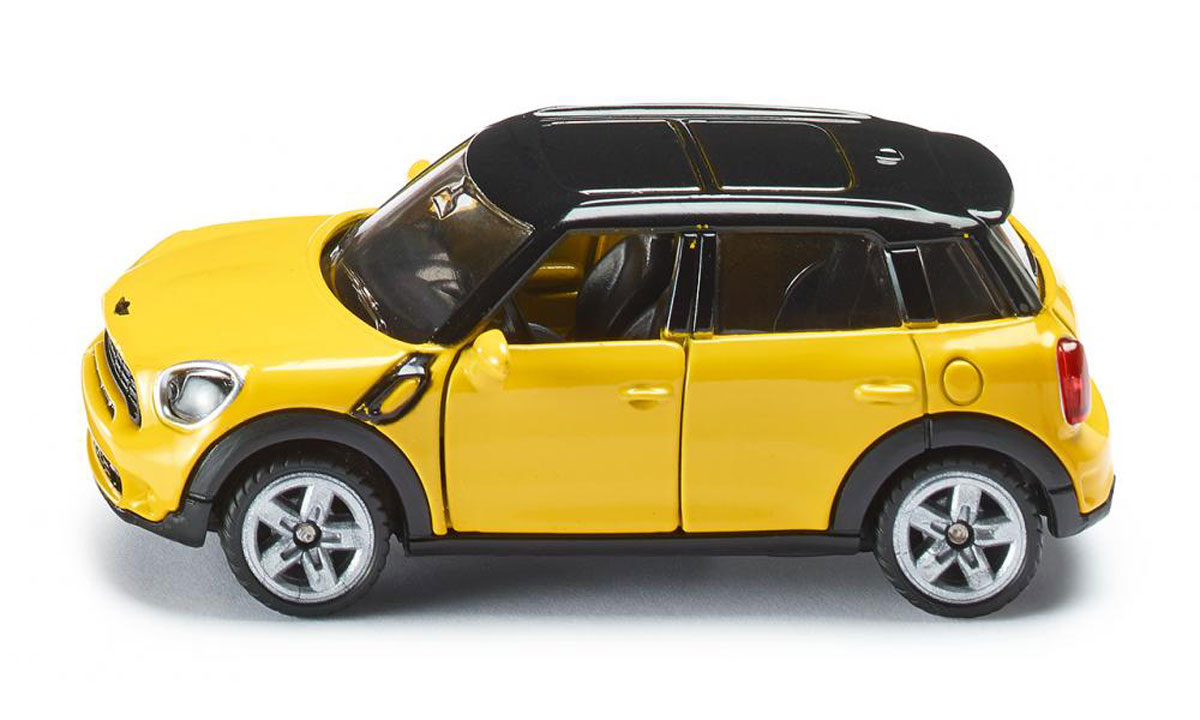 """Модель автомобиля Siku """"Mini Countryman"""" станет замечательным подарком для любителей техники всех возрастов. Модель представляет собой реалистичную копию настоящего автомобиля. Модель отличается высокой степенью детализации. Корпус модели выполнен из металла, детали изготовлены из ударопрочного пластика. Передние дверцы машинки открываются, прорезиненные колеса вращаются. Ваш ребенок часами будет играть с такой игрушкой, придумывая различные истории и устраивая соревнования."""
