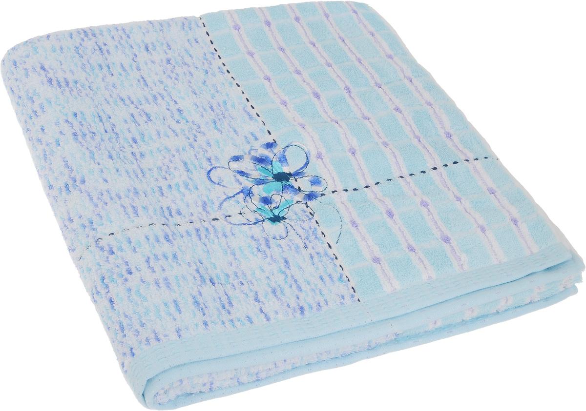 Полотенце Soavita Premium. Sandra, цвет: голубой, 70 х 140 смRC-100BWCПолотенце Soavita Premium. Sandra выполнено из 100% хлопка. Изделие отлично впитывает влагу, быстро сохнет, сохраняет яркость цвета и не теряет форму даже после многократных стирок. Полотенце очень практично и неприхотливо в уходе. Оно создаст прекрасное настроение и украсит интерьер в ванной комнате.