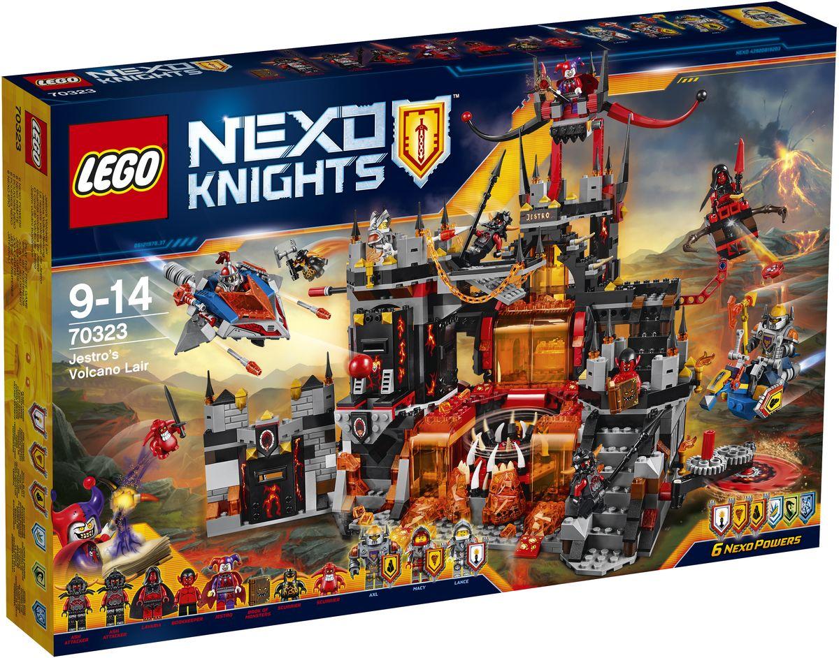 LEGO NEXO KNIGHTS Конструктор Логово Джестро 70323 конструктор lego nexo логово джестро 1188 элементов 70323
