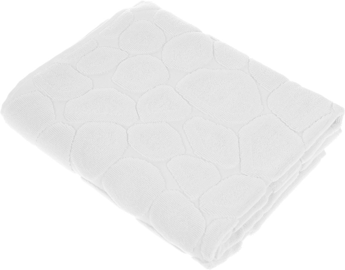 Коврик-полотенце для ванной Issimo Home Lavia, цвет: экрю, 60 x 90 смC0042416Коврик-полотенце для ванной Issimo Home Lavia выполнен из высококачественного хлопка. Такое изделие подарит вам массу положительных эмоций и приятных ощущений. Коврик отличается нежностью и мягкостью материала, утонченным дизайном и превосходным качеством. Он прекрасно впитывает влагу, быстро сохнет и не теряет своих свойств после многократных стирок.