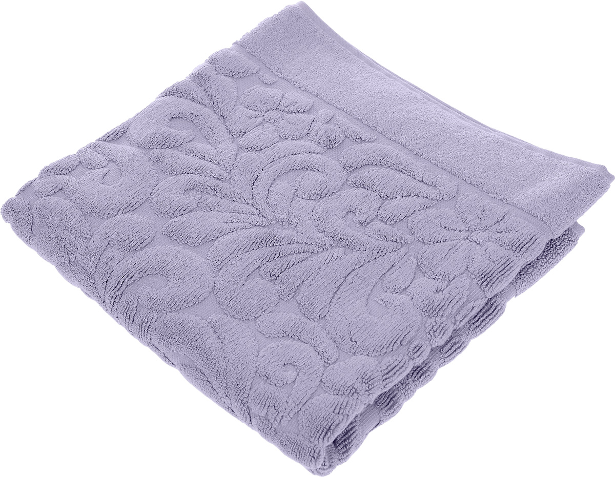 Коврик-полотенце для ванной Issimo Home Valencia, цвет: фиолетовый, 50 x 80 см68/2/2Коврик-полотенце для ванной Issimo Home Valencia выполнен из высококачественного хлопка и бамбука. Такое изделие подарит вам массу положительных эмоций и приятных ощущений. Коврик отличается нежностью и мягкостью материала, утонченным дизайном и превосходным качеством. Он прекрасно впитывает влагу, быстро сохнет и не теряет своих свойств после многократных стирок.
