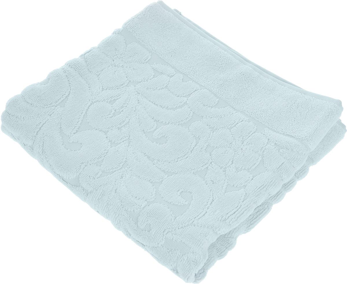 Коврик-полотенце для ванной Issimo Home Valencia, цвет: ментоловый, 50 x 80 см68/5/4Коврик-полотенце для ванной Issimo Home Valencia выполнен из высококачественного хлопка и бамбука. Такое изделие подарит вам массу положительных эмоций и приятных ощущений. Коврик отличается нежностью и мягкостью материала, утонченным дизайном и превосходным качеством. Он прекрасно впитывает влагу, быстро сохнет и не теряет своих свойств после многократных стирок.