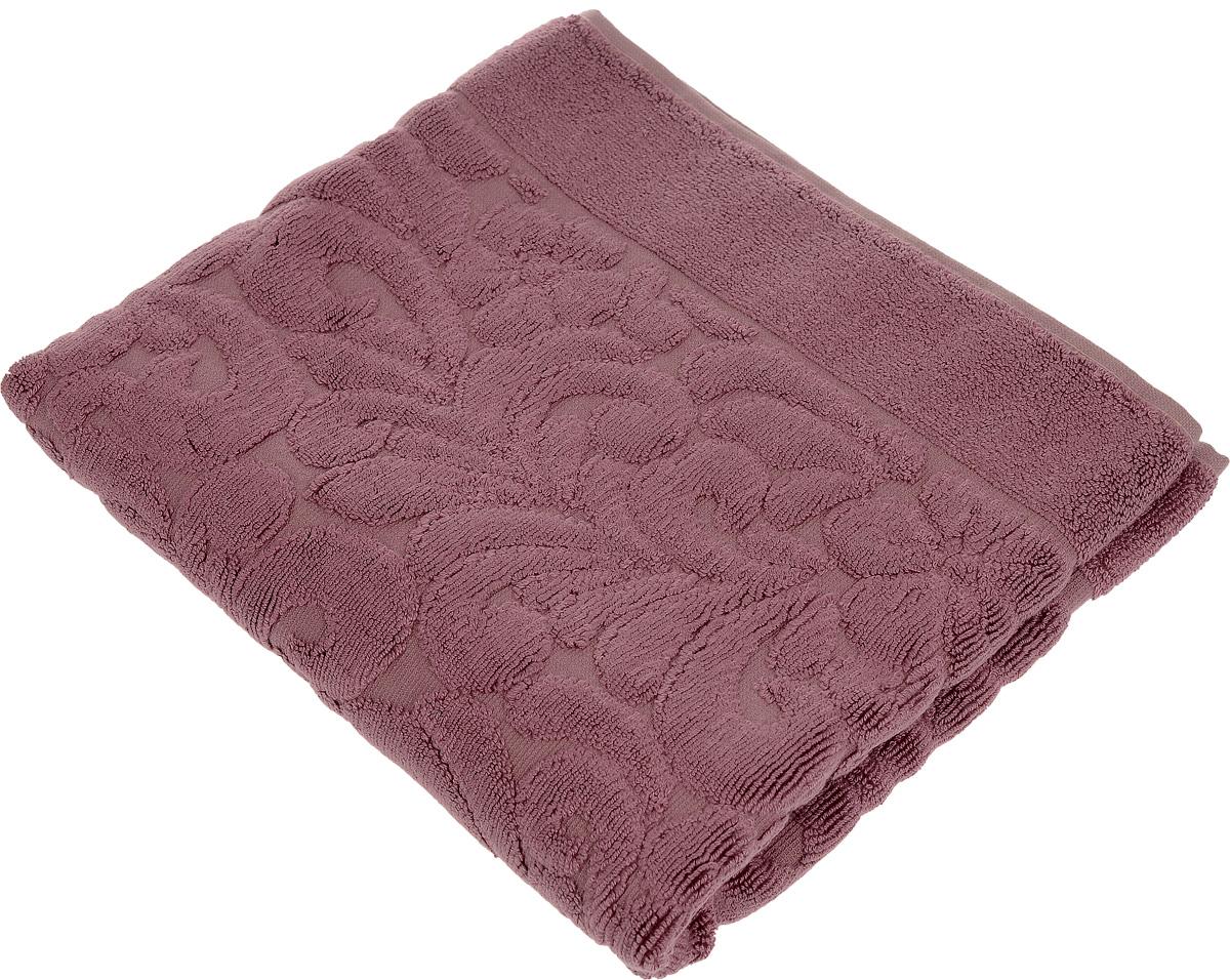 Коврик-полотенце для ванной Issimo Home Valencia, цвет: пыльная роза, 50 x 80 см68/5/1Коврик-полотенце для ванной Issimo Home Valencia выполнен из высококачественного хлопка и бамбука. Такое изделие подарит вам массу положительных эмоций и приятных ощущений. Коврик отличается нежностью и мягкостью материала, утонченным дизайном и превосходным качеством. Он прекрасно впитывает влагу, быстро сохнет и не теряет своих свойств после многократных стирок.