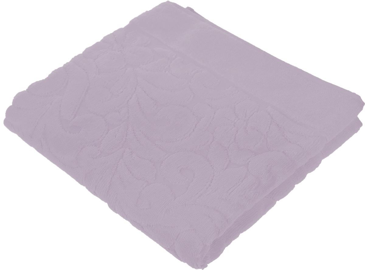 Коврик-полотенце для ванной Issimo Home Valencia, цвет: аметист, 50 x 80 см68/5/1Коврик-полотенце для ванной Issimo Home Valencia выполнен из высококачественного хлопка и бамбука. Такое изделие подарит вам массу положительных эмоций и приятных ощущений. Коврик отличается нежностью и мягкостью материала, утонченным дизайном и превосходным качеством. Он прекрасно впитывает влагу, быстро сохнет и не теряет своих свойств после многократных стирок.
