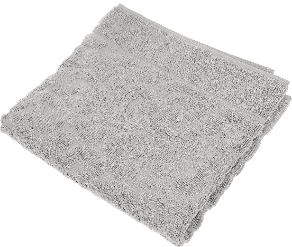 Коврик-полотенце для ванной Issimo Home Valencia, цвет: бежевый, 50 x 80 см531-105Коврик-полотенце для ванной Issimo Home Valencia выполнен из высококачественного хлопка и бамбука. Такое изделие подарит вам массу положительных эмоций и приятных ощущений. Коврик отличается нежностью и мягкостью материала, утонченным дизайном и превосходным качеством. Он прекрасно впитывает влагу, быстро сохнет и не теряет своих свойств после многократных стирок.