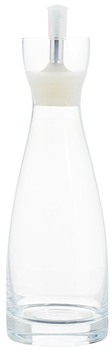 Емкость для масла и уксуса Zeller, 350 млFD-59Емкость для масла или уксуса Zeller, выполненная из стекла, позволит украсить любую кухню. Она внесет разнообразие как в строгий классический стиль, так и в современный кухонный интерьер. Легка в использовании, стоит только перевернуть, и вы с легкостью сможете добавить оливковое масло или уксус. Оригинальная емкость будет отлично смотреться на вашей кухне.Диаметр по верхнему краю: 4,5 см. Высота емкости (с учетом крышки): 21,5 см.