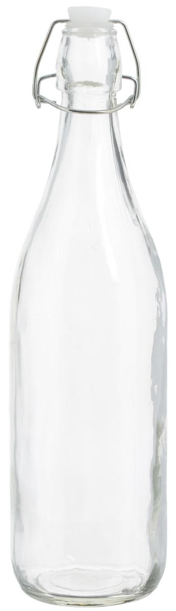 Емкость для масла и уксуса Zeller, 1 лVT-1520(SR)Емкость для масла или уксуса Zeller, выполненная из стекла, позволит украсить любую кухню. Она внесет разнообразие как в строгий классический стиль, так и в современный кухонный интерьер. Пластиковая крышка с силиконовой вставкой и металлической клипсой, делает бутылку герметичной.Оригинальная емкость Zeller будет отлично смотреться на вашей кухне. Диаметр по верхнему краю: 2,8 см. Высота (с учетом крышки): 32 см.