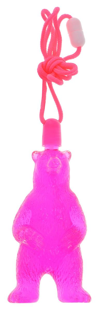 Uncle Bubble Мыльные пузыри Медведь цвет розовый игрушка престиж гигантские мыльные пузыри 200мл мп50055