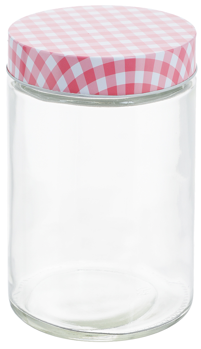 Банка для хранения Zeller, цвет: прозрачный, розовый, 1,15 лVT-1520(SR)Универсальная банка Zeller, изготовленная из прочного стекла, снабжена металлической крышкой, которая плотно закрывается, дольше сохраняя аромат и свежесть содержимого. Изделие подходит для хранения сыпучих продуктов: круп, специй, орехов, сахара, соли и многого другого. Функциональная и вместительная, такая банка станет незаменимым аксессуаром на любой кухне. Диаметр банки (по верхнему краю): 10 см.Высота банки (без учета крышки): 17 см.