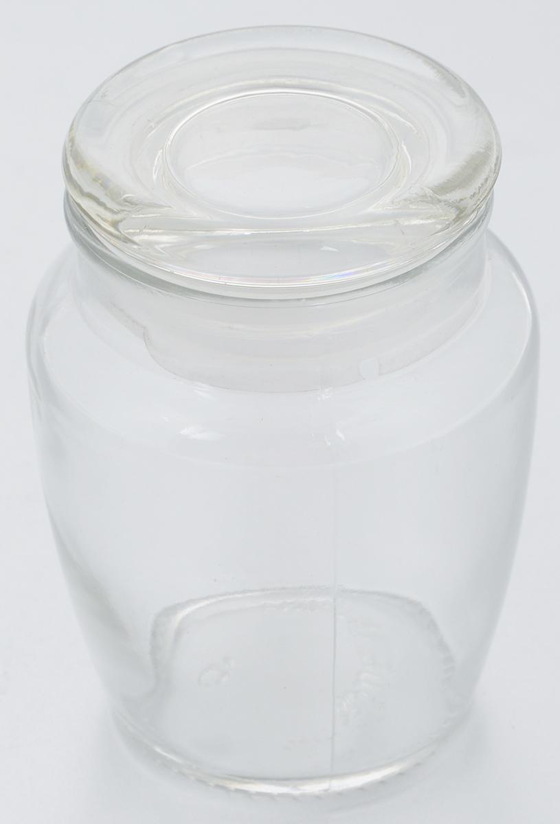 Банка для хранения Zeller, 300 млVT-1520(SR)Банка Zeller, выполненная из прочного высококачественного стекла, предназначена для сыпучих продуктов или специй. Стеклянная крышка с пластиковой прокладкой, делает изделие герметичной, придает дизайну особый стиль.Такая банка оригинально подходит к интерьеру любой кухни.Диаметр по верхнему краю: 5,5 см. Высота (с учетом крышки): 9,5 см.