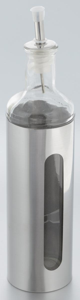 Емкость для масла и уксуса Zeller, 500 мл. 19949550004Емкость для масла или уксуса Zeller, выполненная из стекла, позволит украсить любую кухню. Она внесет разнообразие как в строгий классический стиль, так и в современный кухонный интерьер. Легка в использовании, стоит только перевернуть, и вы с легкостью сможете добавить оливковое масло или уксус. Оригинальная емкость будет отлично смотреться на вашей кухне.Диаметр по верхнему краю: 3,2 см. Высота емкости (с учетом крышки): 28,5 см.