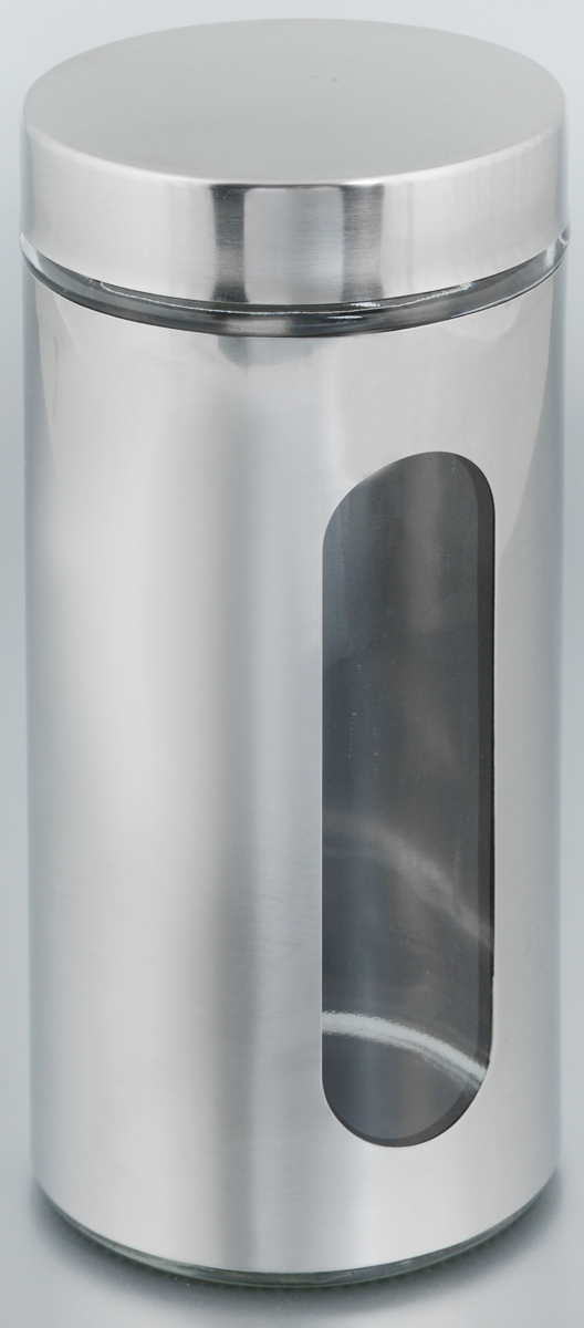 Банка для хранения Zeller, 1 л. 19947Аксион Т-33Банка Zeller, выполненная из антикоррозийной стали и прочного стекла, снабжена крышкой, которая плотно и герметично закрывается, дольше сохраняя аромат и свежесть содержимого. Изделие подходит для хранения сыпучих продуктов: круп, чая, специй, орехов, сахара и многого другого. Банка имеет прозрачное окошко. Благодаря антистатической поверхности продукты не прилипают к стеклянному окошку, поэтому вы всегда можете видеть, что и в каком количестве содержится внутри. Такая функциональная и вместительная банка станет незаменимым аксессуаром на любой кухне. Диаметр банки (по верхнему краю): 9 см.Высота банки (без учета крышки): 22,5 см.