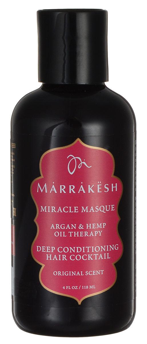 Marrakesh Маска для волос укрепляющая Original, 118 млFS-00897Восстанавливает самые пористые, сухие, поврежденные волосы- Значительно улучшает внутреннюю силу волоса- Восстанавливает поврежденную кутикулу волоса- Делает волосы послушными и добавляет блеск- Можно использовать на окрашенных волосах- Масла Арганы и Конопли значительно улучшают состояние волос и их текстуру- Масло Жожоба восстанавливает сухие, поврежденные волосы, придавая им блеск- Протеины пшеницы укрепляют волос изнутри и восстанавливают поврежденную кутикулу.