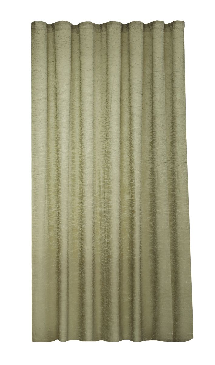 Штора Garden, на ленте, цвет: олива, высота 260 см. С W303 V73072PANTERA SPX-2RSGarden – это универсальная и интересная серия домашних штор для яркого и стильного оформления окон и создания особенной уютной атмосферы. Эта штора великолепно смотрится как одна, так и в паре, в комбинации с нежной тюлевой занавеской, собранная на подхваты и свободно ниспадающая естественными складками. Такая штора, изготовленная полностью из прочного и очень практичного полиэстерового полотна, долговечна и не боится стирок, не сминается, не теряет своего блеска и яркости красок.
