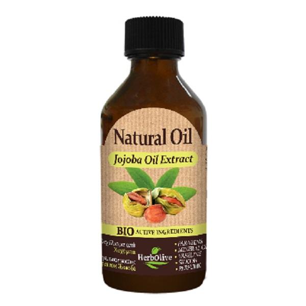 HerbOlive Натуральное масло с экстрактом жожоба 100 мл4600702087673Масло жожоба - богатый источник минералов и витаминов, компоненты, необходимые для питания, защиты и тонизирования кожи. Идеально подходит, как для жирной, так и для сухой кожи. Благодаря высокому содержанию витамина Е, масло жожоба обладает противовоспалительным, регенерирующим, нормализующим, антиоксидантным свойствами.Косметика произведена в Греции на основе органического сырья, НЕ СОДЕРЖИТ минеральные масла, вазелин, пропиленгликоль, парабены, генетически модифицированные продукты (ГМО)