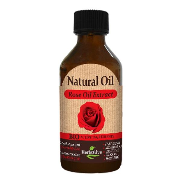 HerbOlive Натуральное масло с экстрактом розы 100 мл5200310400902Розовое масло благотворно воздействует на сухую, огрубевшую, и шелушащуюся кожу лица. Обладая смягчающими и питательными свойствами, масло розы устраняет шелушение и огрубение кожи, насыщает кожные клетки необходимыми питательными веществами, и помогает обеспечить защиту сухой кожи от агрессивных воздействий окружающей среды (ветер, сухой воздух, мороз, солнце).Прекрасно подходит для ухода за чувствительной кожей, которая отрицательно реагирует на многие косметические препараты. Его применение способствует успокоению раздраженной и воспаленной кожи лица, и в дальнейшем помогает поддерживать оптимальное состояние кожного покрова. Может с успехом использоваться для кожи с близко расположенными капиллярами, т.к. его регулярное применение устраняет сосудистые сеточки на лице.Косметика произведена в Греции на основе органического сырья, НЕ СОДЕРЖИТ минеральные масла, вазелин, пропиленгликоль, парабены, генетически модифицированные продукты (ГМО)