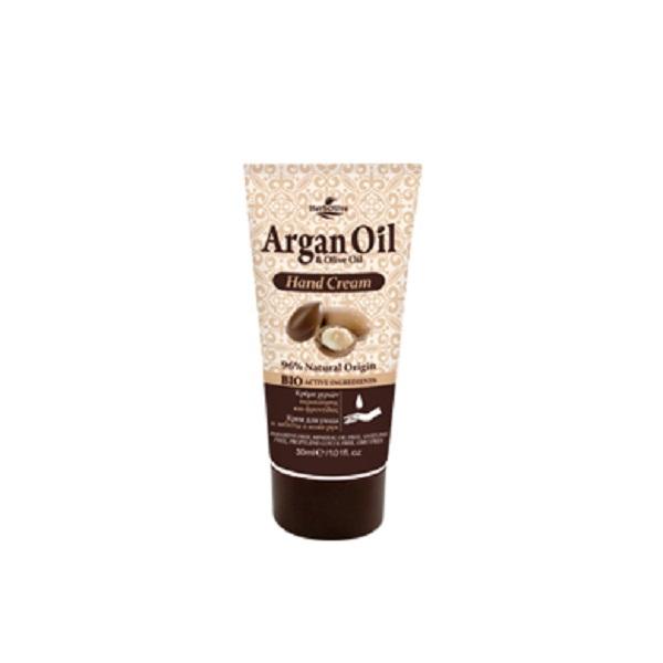 ArganOil Мини крем для рук с маслом арганы 30 мл086-15-36053Крем для рук содержит органическое оливковое масло, глицерин, аллантоин, экстракт алоэ вера - ингредиенты, обеспечивающие питание и увлажнение. Обладает антиоксидантными свойствами, нейтрализует свободные радикалы, защищает от возрастных признаков, поддерживает мягкость рук и здоровый вид кожи. Косметика произведена в Греции на основе органического сырья, НЕ СОДЕРЖИТ минеральные масла, вазелин, пропиленгликоль, парабены, генетически модифицированные продукты (ГМО)
