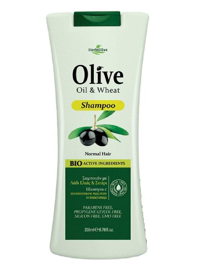 HerbOlive Шампунь для нормальных волос с пшеницей 200 мл2026439Питает волосы укорней, обеспечивает сбалансированный уход заволосами икожей головы. Оливковое масло инасыщенная травяная база питают минералами ивитаминами кожу головы, содействует здоровому роста волос. Мягко и эффективно очищает волосы, повышет прочность иэластичность, обеспечивая дополнительный объем иблеск. Косметика произведена в Греции на основе органического сырья, НЕ СОДЕРЖИТ минеральные масла, вазелин, пропиленгликоль, парабены, генетически модифицированные продукты (ГМО)