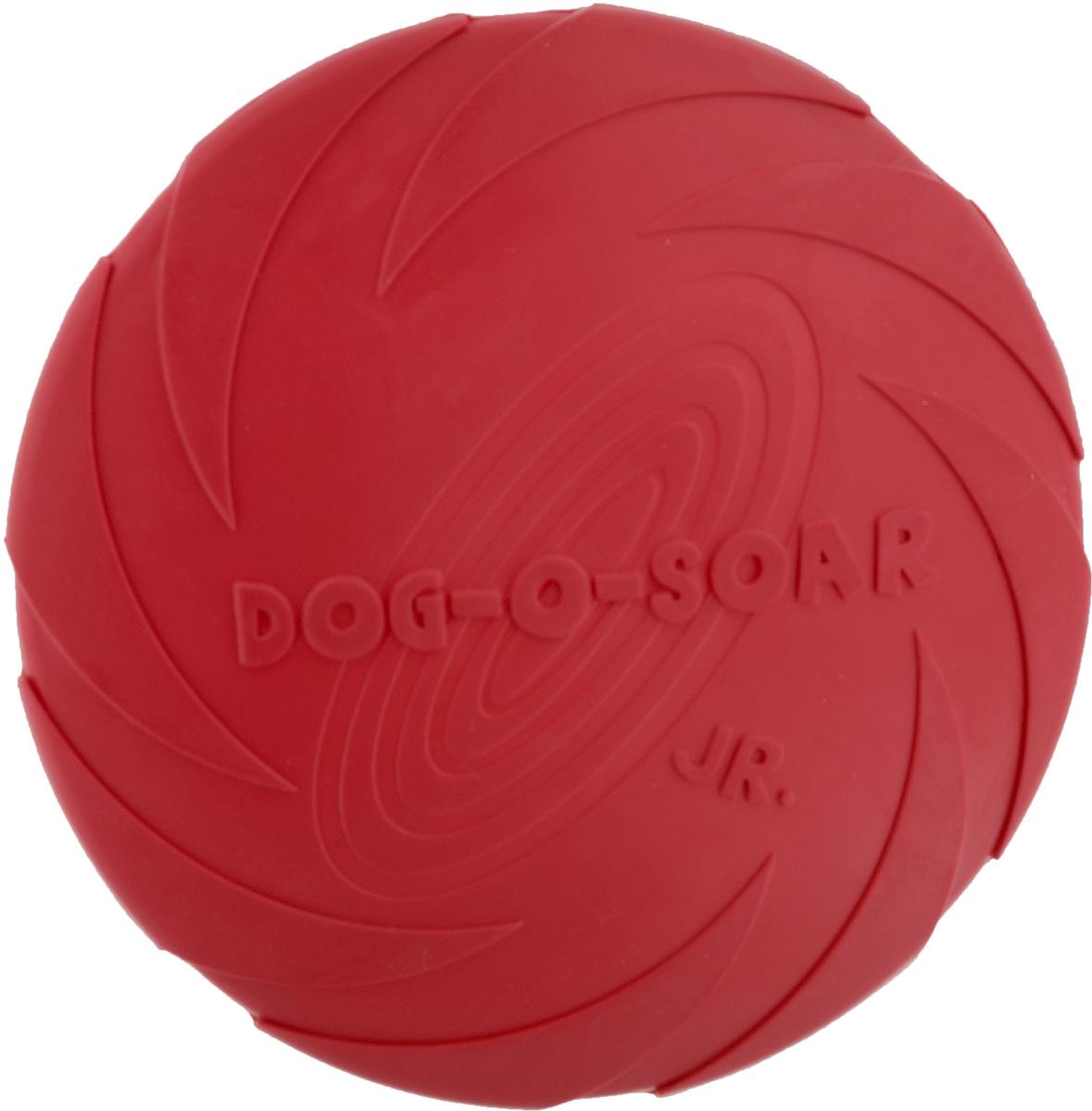 Игрушка для собак I.P.T.S. Фрисби, цвет: красный, диаметр 18 смT2Игрушка I.P.T.S. Фрисби, выполненная из резины, отлично подойдет для совместных игр хозяина и собаки. В отличие от пластиковых, такая игрушка не образует острых зазубрин и трещин, способных повредить десны питомца. Совместные игры укрепляют взаимоотношение и понимание.Диаметр: 18 см.